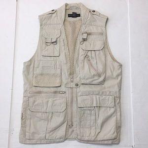 f3f7045bf1dad Banana Republic Safari Fishing Hunting Vest
